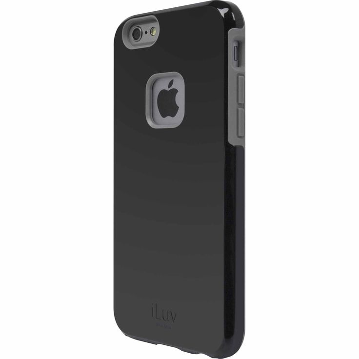 "iLuv Regatta Dual-Layer Case for iPhone 6, 7"""" - Black"