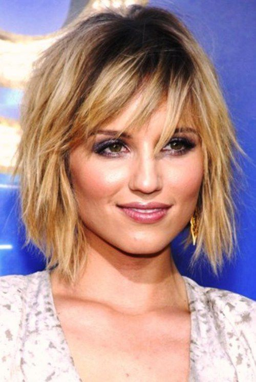 Prime Asymmetrical Bob With Choppy Bangs Google Search Bangs Bobs Hairstyle Inspiration Daily Dogsangcom