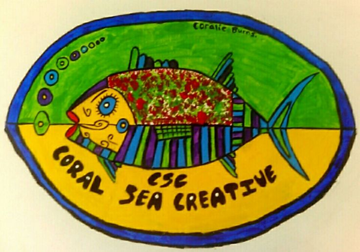 Coral Sea Creative business logo.