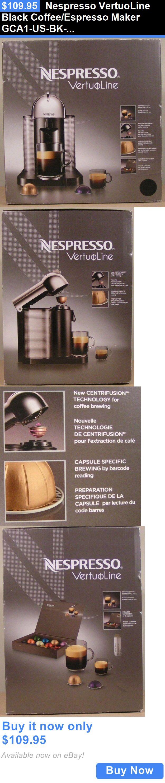 appliances: Nespresso Vertuoline Black Coffee/Espresso Maker Gca1-Us-Bk-Ne, Free Shipping BUY IT NOW ONLY: $109.95