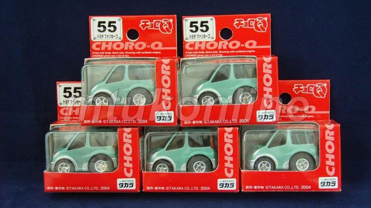 CHORO-Q STANDARD 2004 | TOYOTA FUNCARGO YARIS VERSO 1999 | GREEN | SELL AS LOT