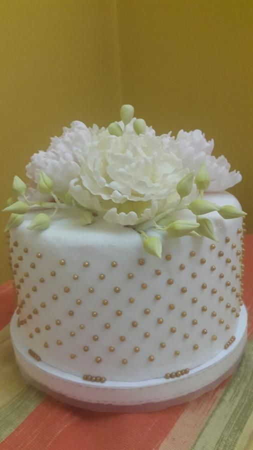 50th Birthday cake by Eleonora Laura Mateos