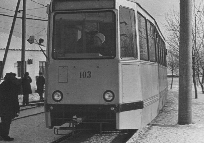История томского трамвая.