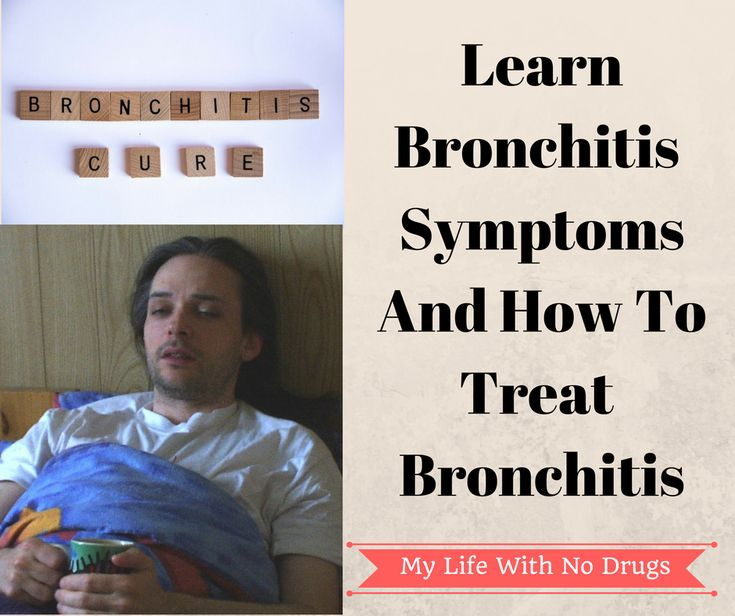 Learn Bronchitis Symptoms And How To Treat Bronchitis ...