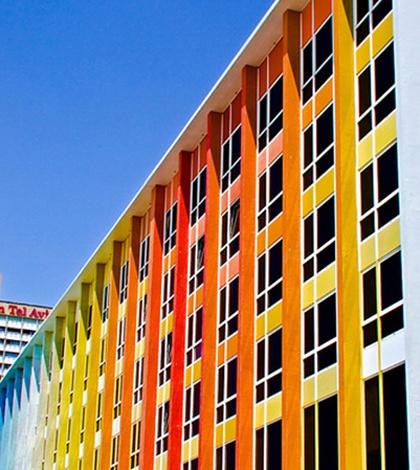 Kleurrijk designhotel in Brussel