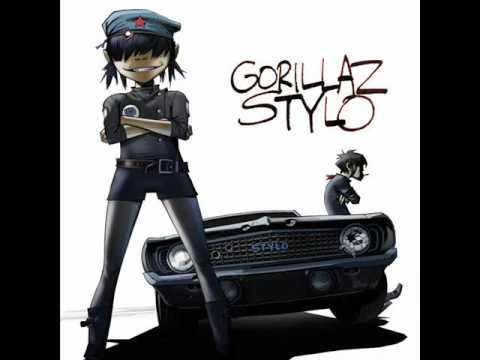 Gorillaz  - Stylo [Single] Feat. Bobby Womack & Mos Def (2010)   ... electrick is the luv,...