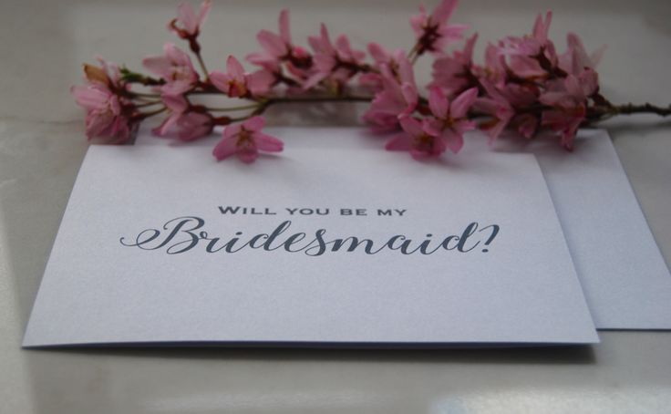 Personalized wedding proposal card, will you be my bridesmaid? Custom made card, can be personalized by your taste and your budget. Beautiful in white or blue combination. Wedding proposal card is made by BlissWeddingsAus