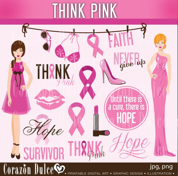 26 best Breast Cancer awarness graphics and party inspirations ...