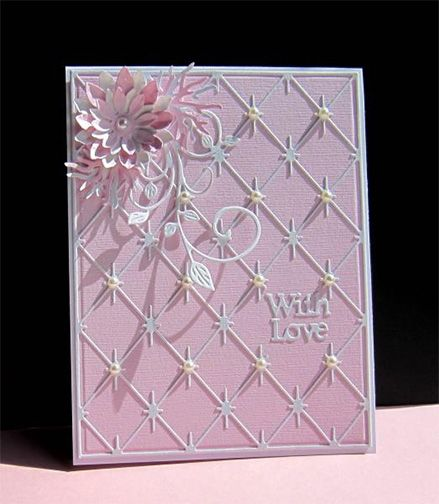 Diamond Background THIS IS SUCH A BEAUTIFUL CARD 24/7 - Wendy Schultz ~ Cards 1.