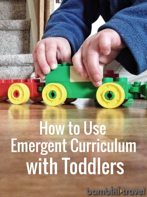 How to Use Emergent Curriculum with Toddlers | Tips for planning reggio inspired or project approach methods with young kids | Bambini Travel