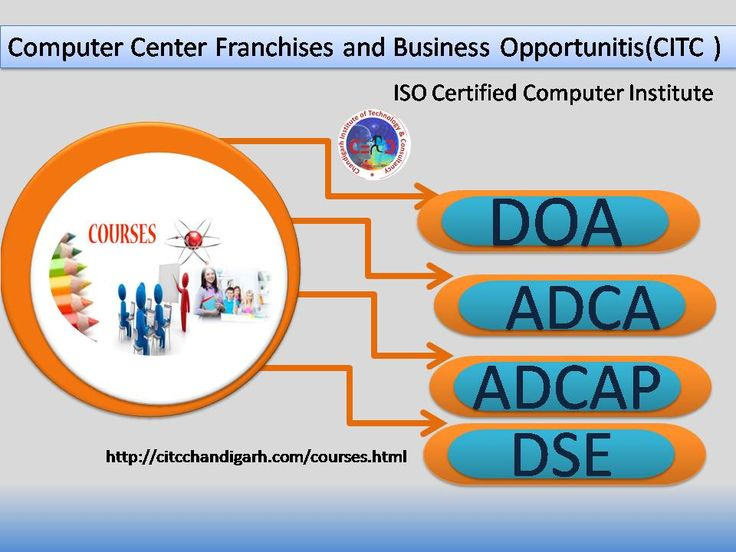 Free iso certified computer center franchise throughout