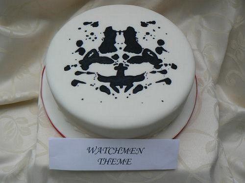 Rorschach cake: Cakes Masterpiece, Rorschach Masks, Cakes Bi, Rorschach Cakes, Fancy Cakes, Cakes Passion, Inkblot Cakes, Deco Cakes, Eating Cakes