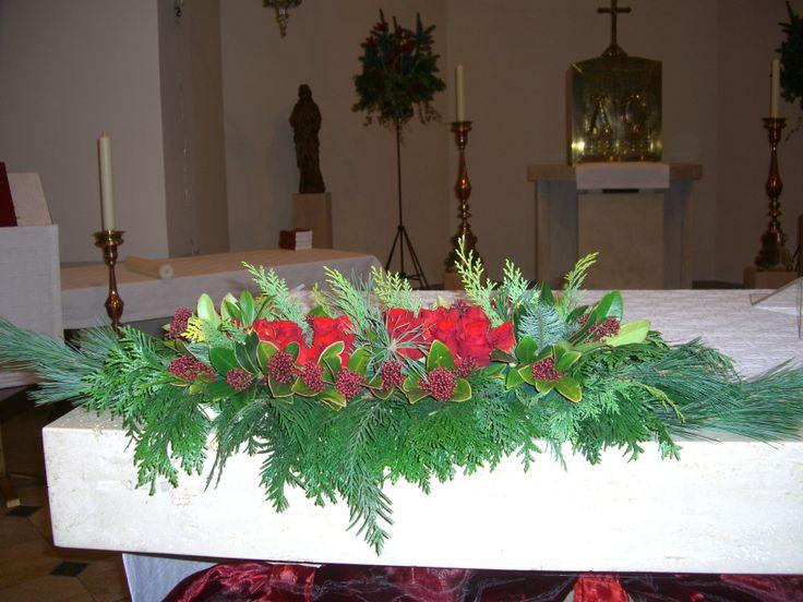 St. Antonius Abt kerk, Eindhoven. Altaarstuk kerst 2013.
