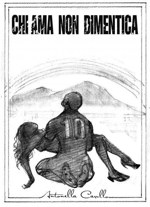 """I disegni preliminari di Fabrizio Fiorentino per la copertina di """"Chi ama non dimentica"""""""