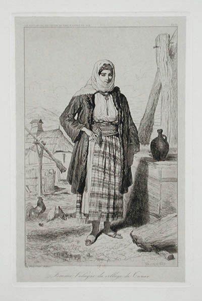 Femme Valaque du Village de Tunar.
