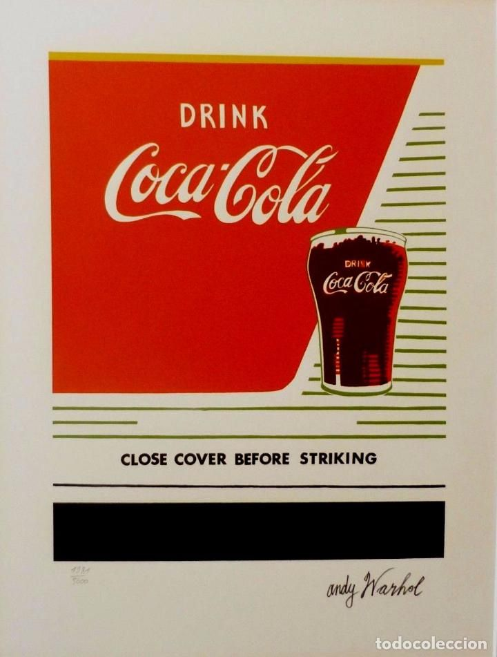 17 best images about coleccion coca cola on pinterest for Foto effetto andy warhol