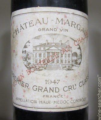 chateau margaux   Chateau Margaux, Margaux, France label