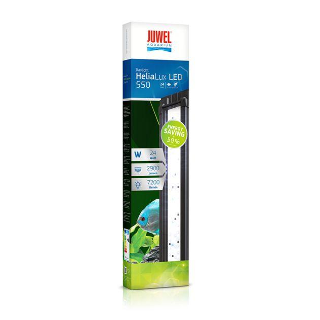 JUWEL HeliaLux LED Daylight 55 cm réglette LEDs 24W pour aquariums JUWEL Trigon 350, Delta 80 et Lido 100 - Rampes et galeries/Rampes d'éclairage à LEDS - AkouaShop : Aquarium, matériel et accessoires d'Aquariophilie en ligne