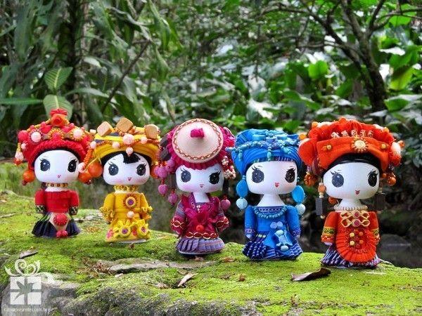 As Mensageiras Fashion são bonecas de descendência oriental e estão ligadas a…