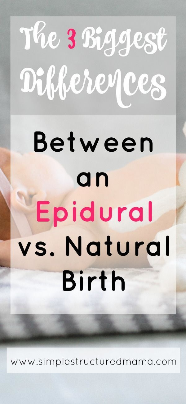 Epidural Birth vs  Natural Birth: My Experience | Childbirth