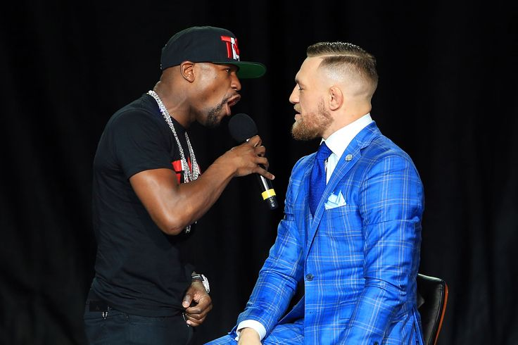 Betting Odds for the Conor McGregor vs. Floyd Mayweather Fight Drop to 4-to-1