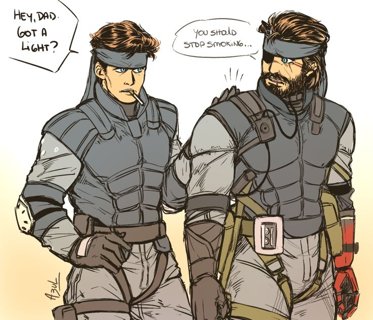 Wanna vape, Dave? Matching sneaking suits ~ ♥