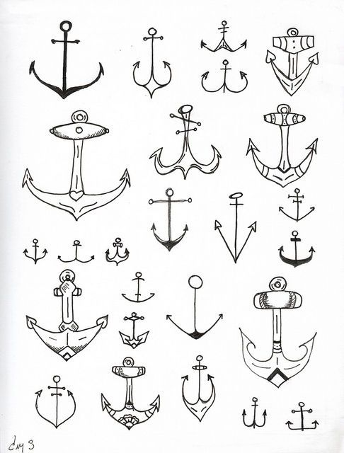 Anchors. For future tattoo...  Brittany?...