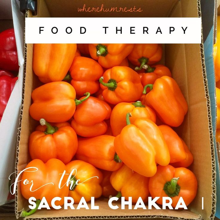 food therapy for the sacral chakra