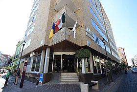 Hotel Universo, Guadalajara, Jalisco - En el centro de la ciudad a 2 cuadras del Teatro Degollado.