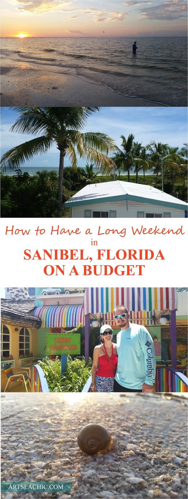 It's the secret shelling spot of the South, and we are frequent visitors!  Take a peak into our weekend getaway to Sanibel Island, Florida for less  than an all-in budget of $2,000!