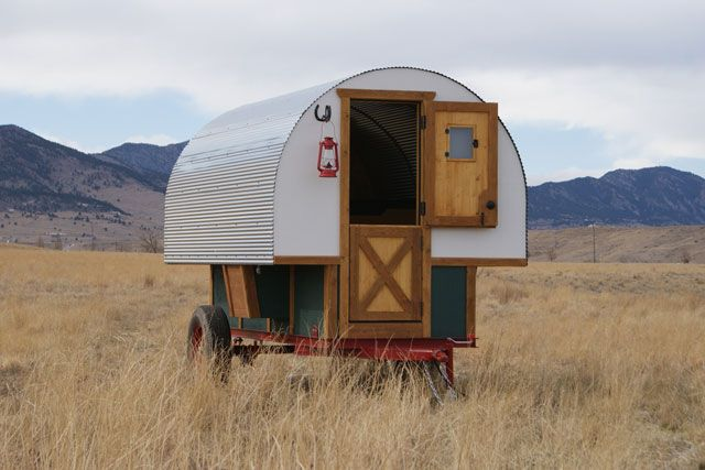 sheep wagon originated here in wy wouldn 39 t this make a neat guest