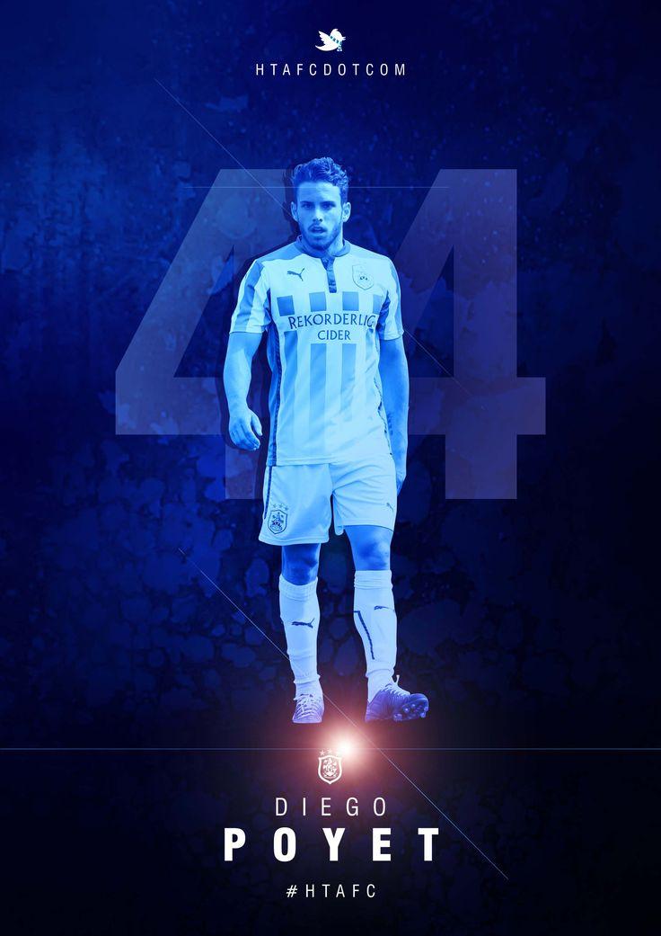 Huddersfield Town loan West Ham United midfielder Diego Poyet