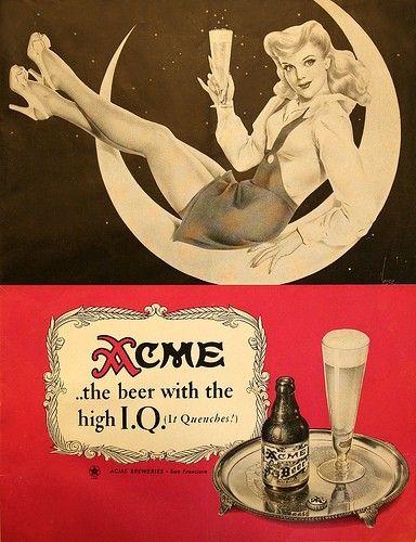 Vintage Beer / acme, beer, vintage