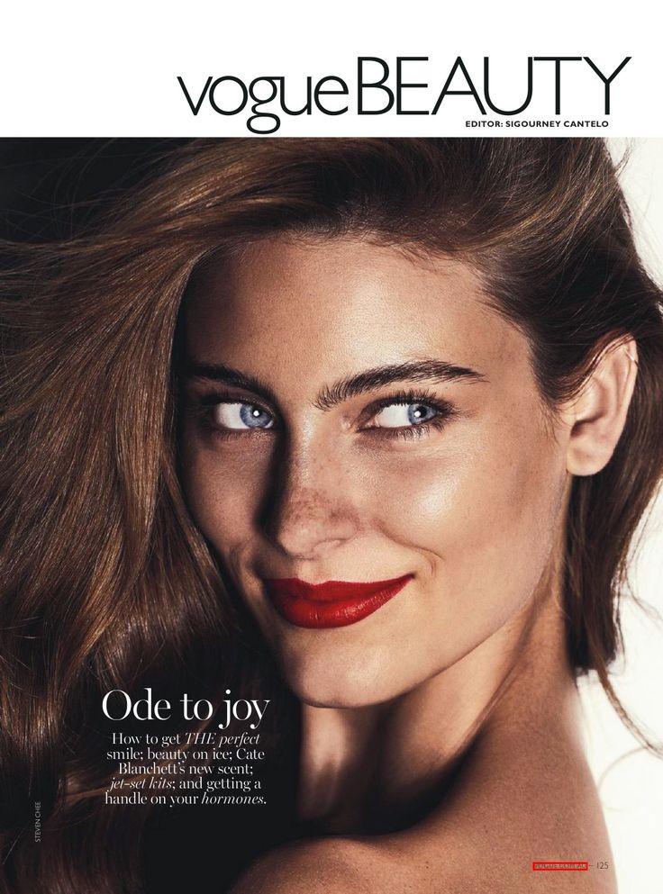Australian model Ellie Ross