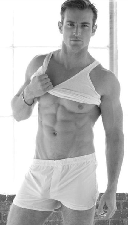 boxers white boxers and muscle on pinterest