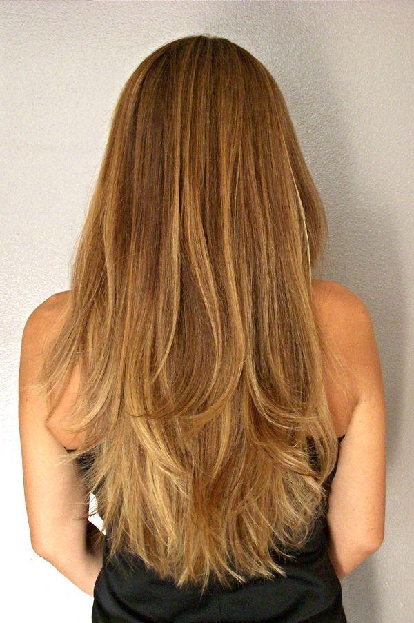 Angie's Ombré Balayage Hight Light and Hair Cut. Gleam Hair Studio Miami.