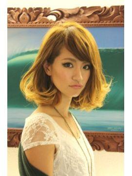 アスティクリエイティブヘアデザイン ASTI creative hair design|ヘアスタイル:ロマンスカールボブ (ミディアム)|ホットペッパービューティー