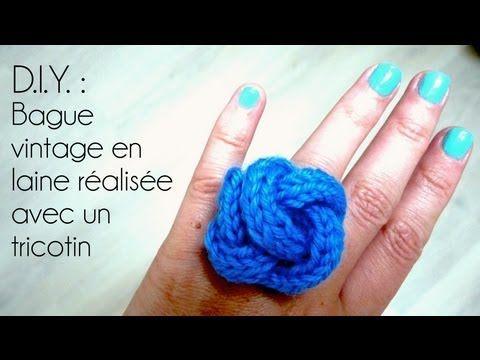 17 meilleures id es propos de bagues en crochet sur pinterest frivolit bracelet au crochet - Comment terminer un tricotin ...