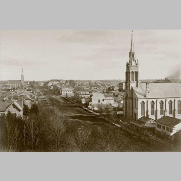 Queens Ave - c 1877