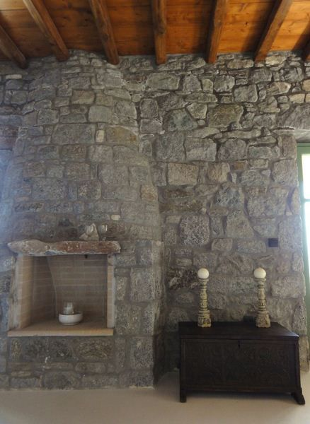 Lilium Villa fireplace