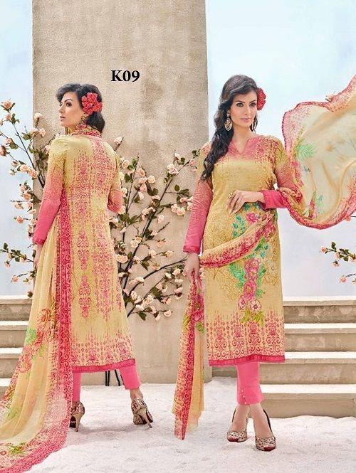 Designer Suit new Dress Salwar Pakistani Bollywood Anarkali Indian Kameez Ethnic…
