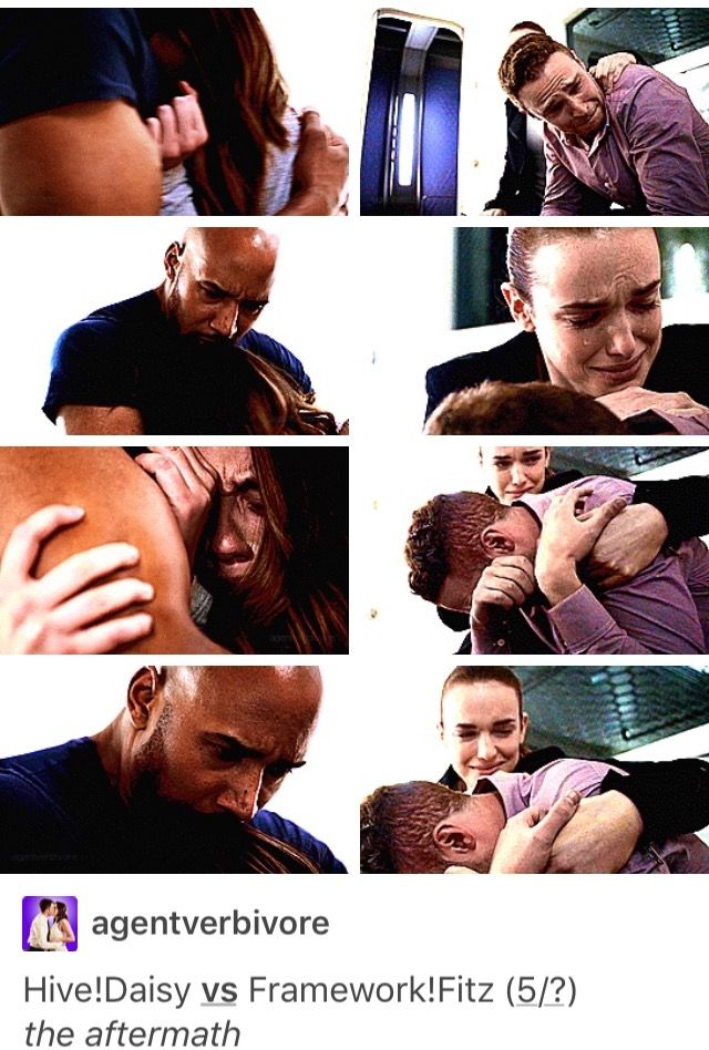 Agents of Shield // Hive/Daisy and Framework/Fitz :( hug scenes)