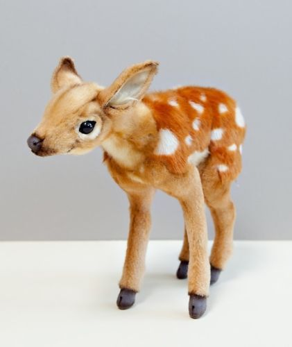"HANSA Plush 12"" Deer Bambi 4936 Portraits of Nature Realistic Stuffed Animal New"
