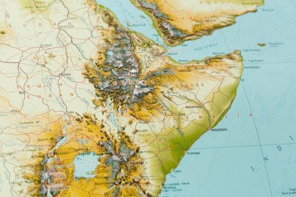 Africa Map detail www.clipclop.co.za