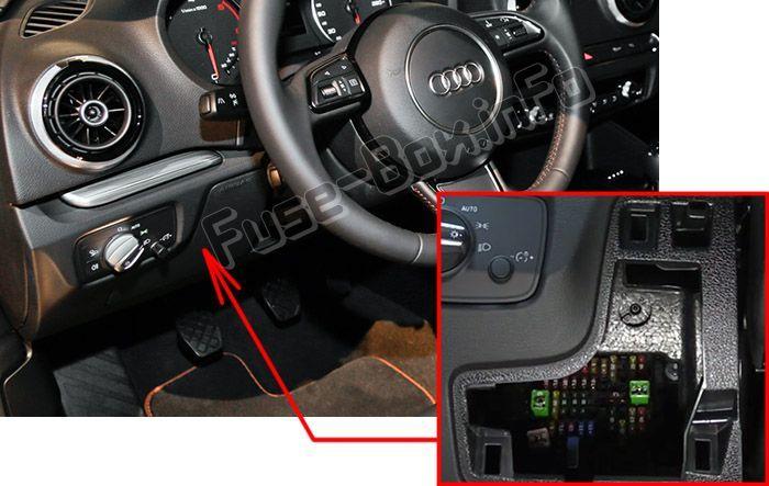 Audi A3 S3 8v 2013 2015 2016 2017 2018 Fuse Box Location Fuse Box Car Fuses Windshield Washer