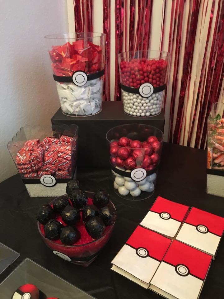 Pokemon candy bar. Pokemon Party