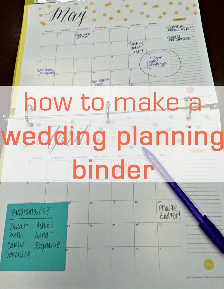 wedding planning checklist spreadsheet free%0A Get your big day organized with this easy and affordable DIY wedding  planning binder