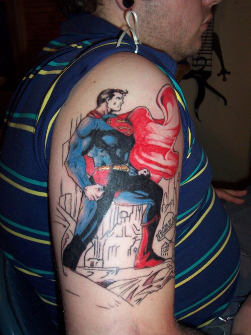 53 best images about superman tattoos on pinterest wonder woman tattoos wonder woman and. Black Bedroom Furniture Sets. Home Design Ideas