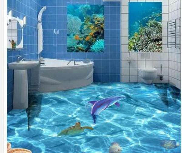 3D Epoxy Floors  8  creative art ideas  Floor