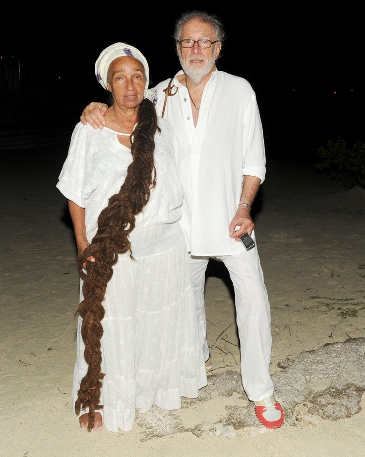 Diane Jobson, Chris Blackwell GoldenEye and HAUTE HIPPIE Beachside Dinner Party hosted by Chris Blackwell, Trish Wescoat Pound & Jesse Cole courtesy of Billy Farrell Agency #hautehippie #HippiesatGoldenEye #BFA